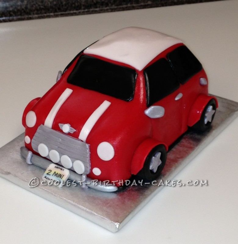 Incredible Coolest Austin Mini Cake Funny Birthday Cards Online Fluifree Goldxyz