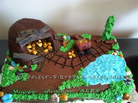 Abandoned Gold Mine Cake