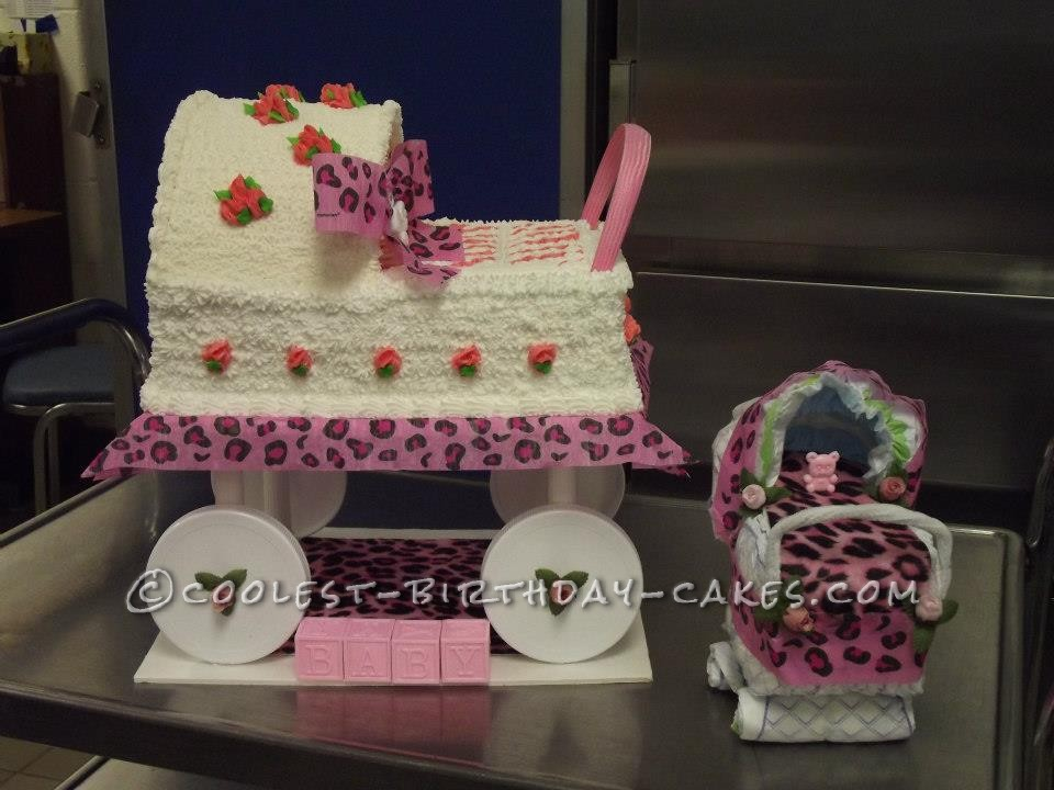 Special Carriage Cake for a Special Mommy