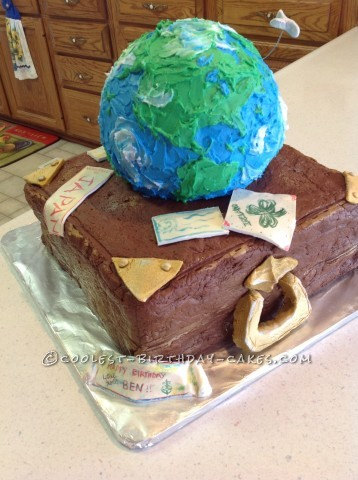 Planet Earth Cake