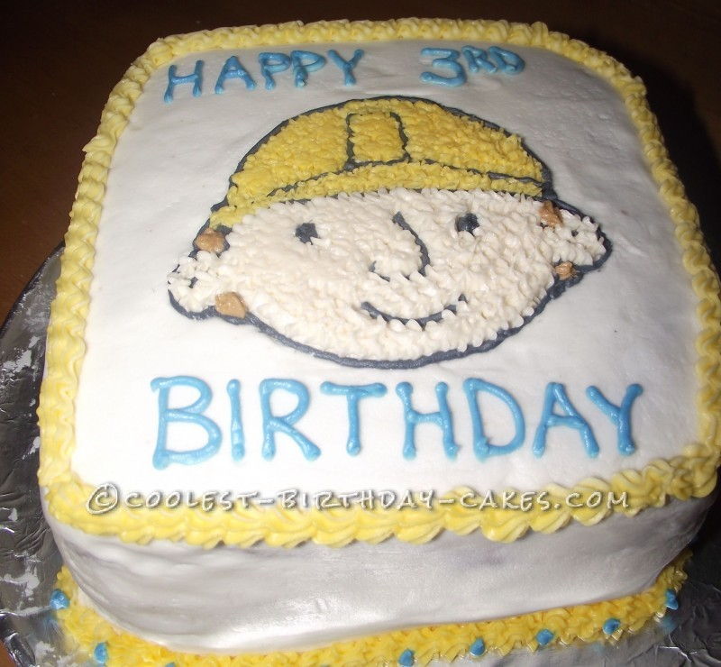Birthday Cake Images For Email : Coolest Bob the Builder Birthday Cake