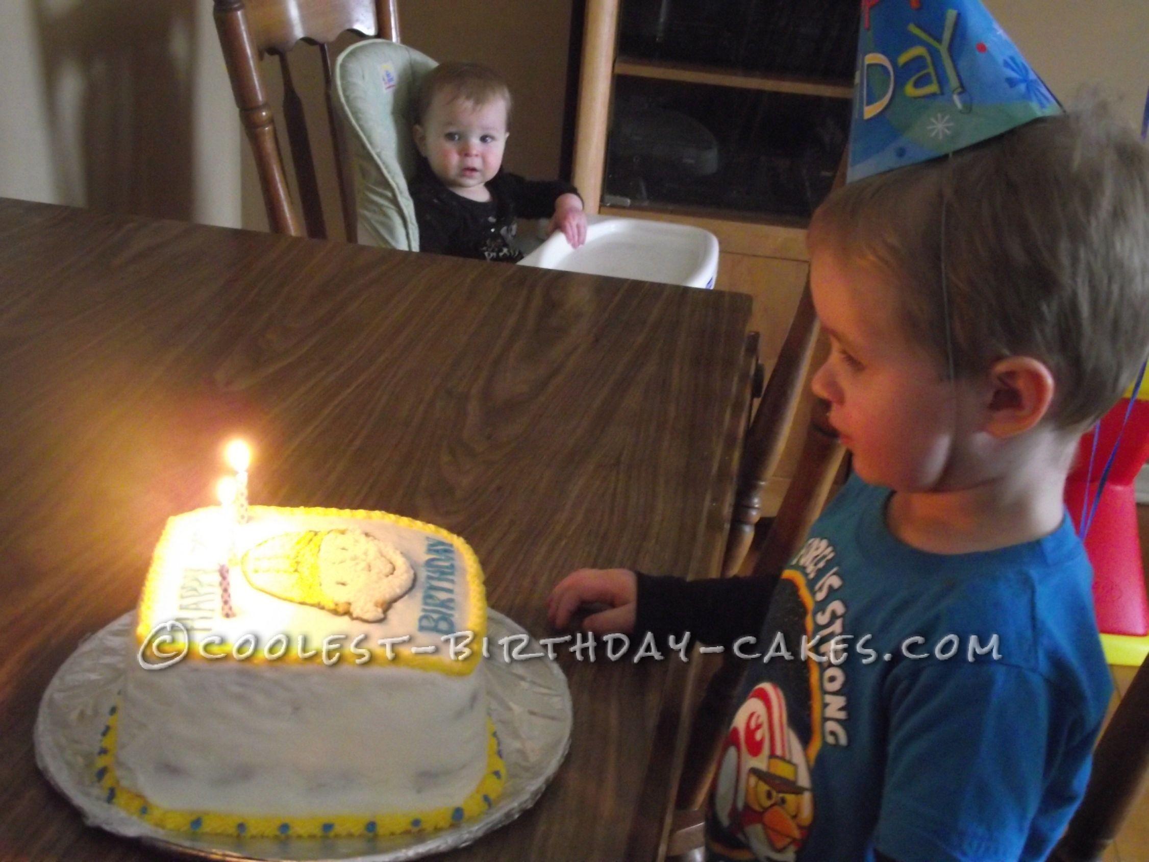 Coolest Bob the Builder Birthday Cake