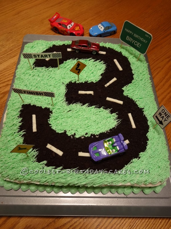 Bryce's Cake with a Road