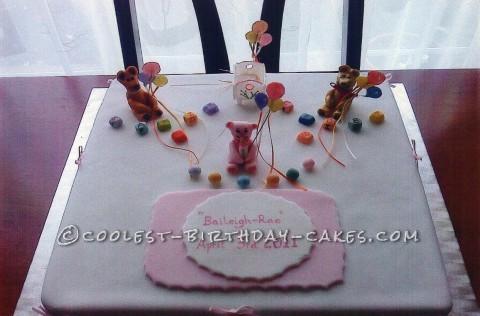 Cool Christening Cake