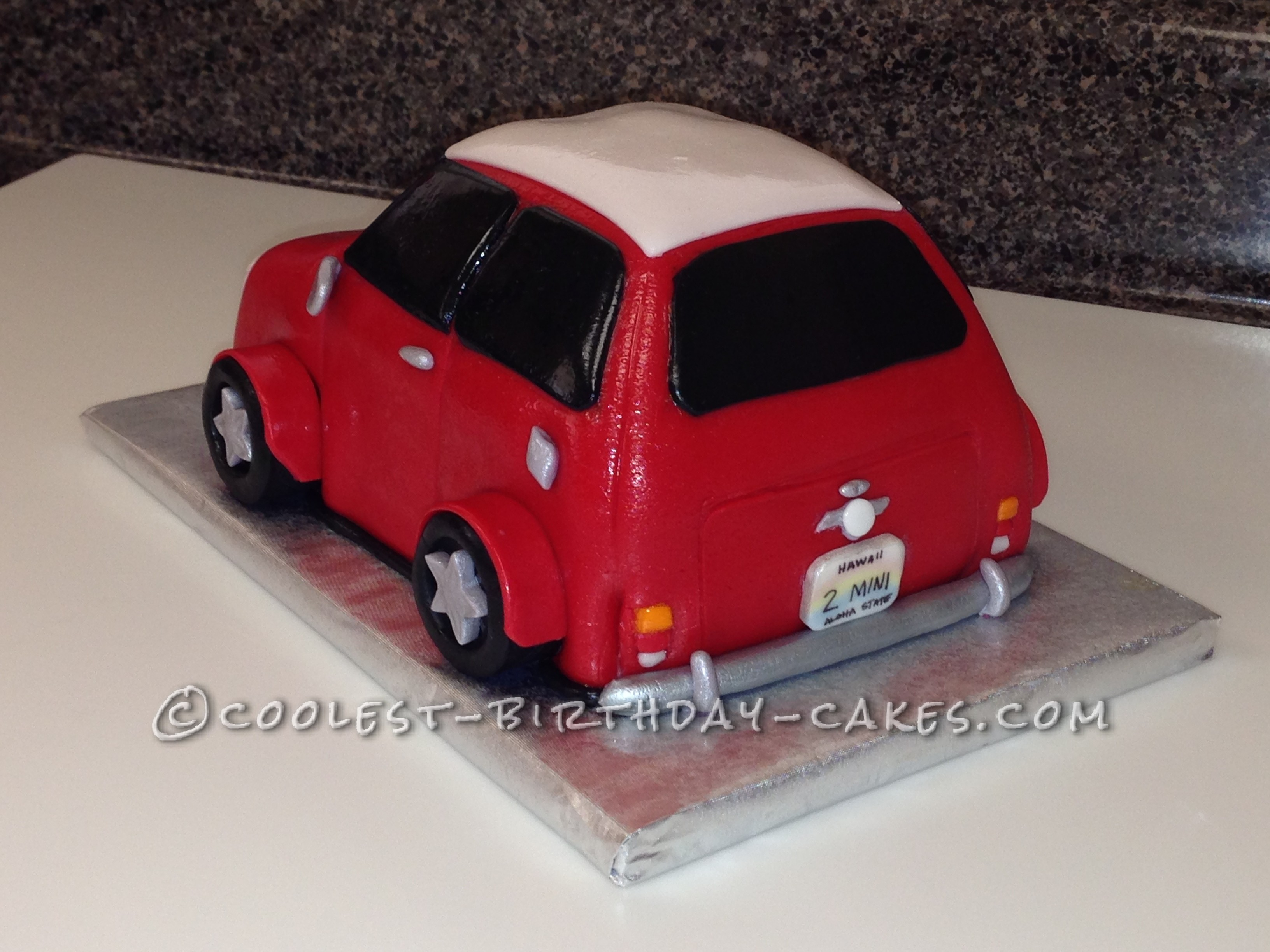 Coolest Austin Mini Cake