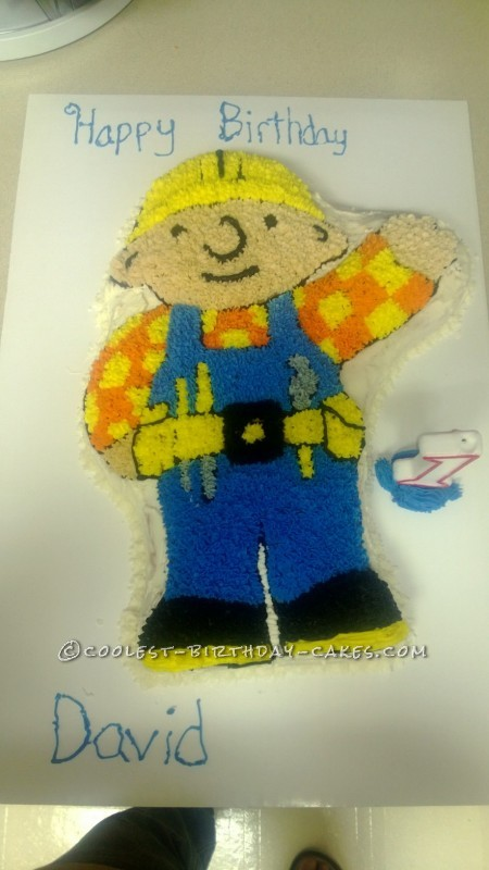 Coolest Bob the Builder Birthday Cake