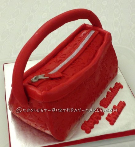 Coolest Coach Purse Cake