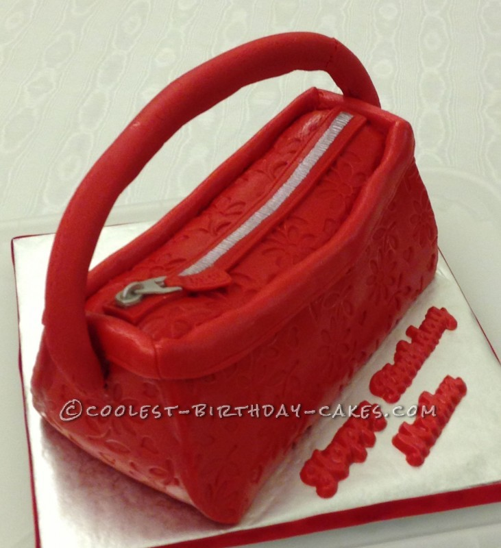 Coolest Coach Purse Cake