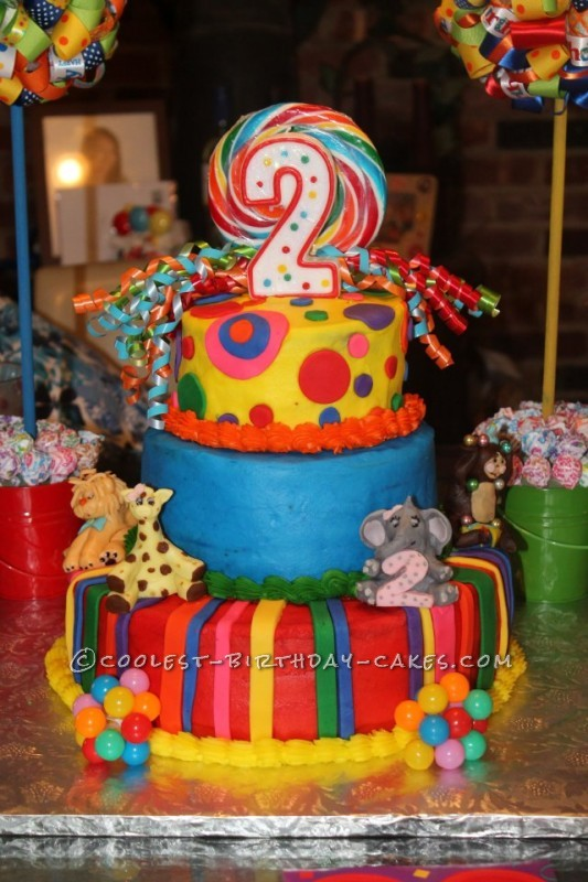 Coolest Crazy Circus Cake