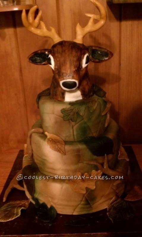 Coolest Deer Hunter Cake