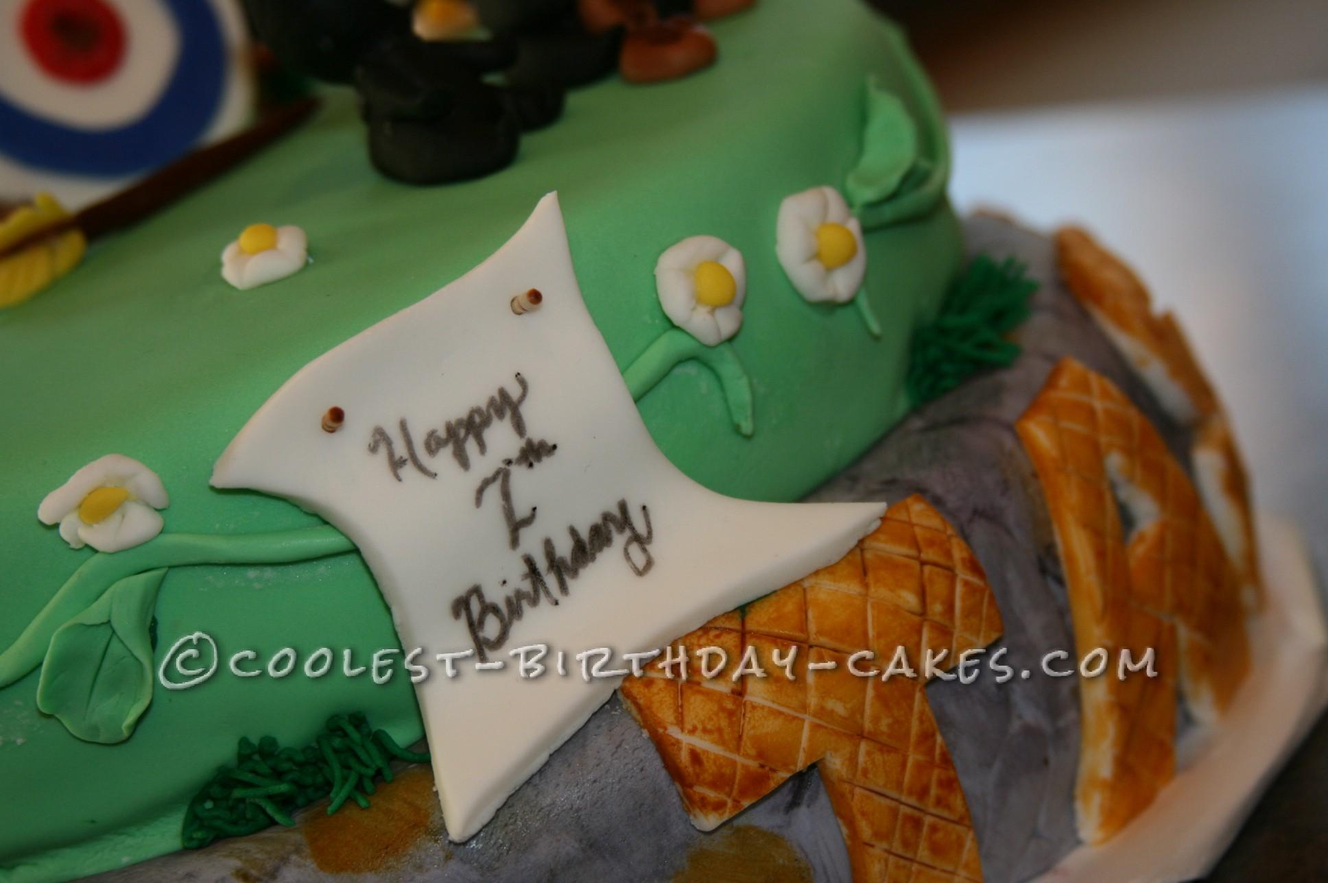 Coolest Disney Themed Brave Cake