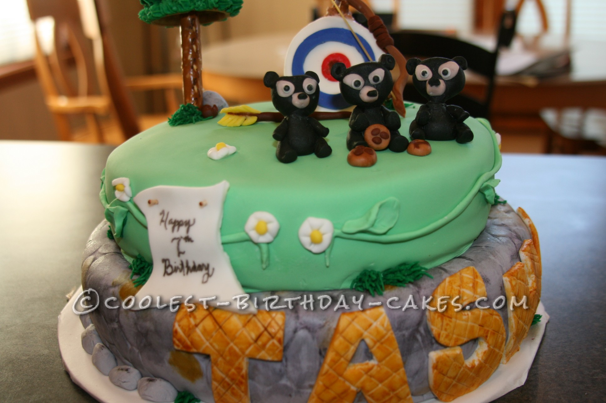 Outstanding Coolest Disney Themed Brave Cake Funny Birthday Cards Online Inifodamsfinfo