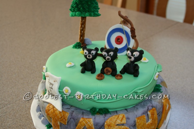 Coolest Disney Themed Brave Cake