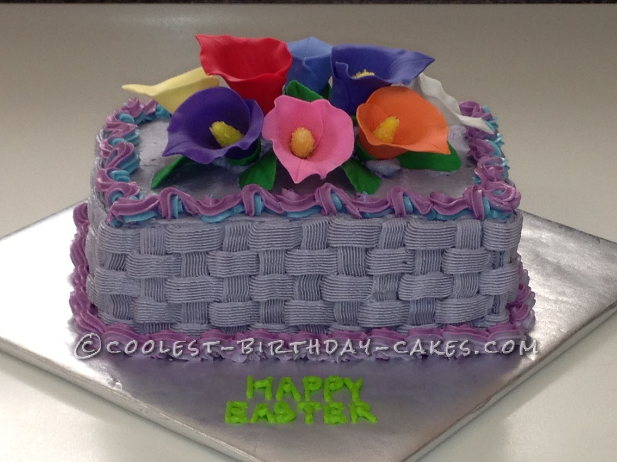 Coolest Easter Calla Lilly Cake