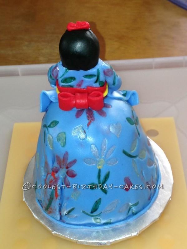 Coolest Kimono Doll Cake