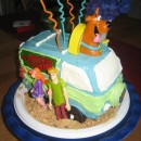 Coolest Mystery Van Cake-Scooby Groovy