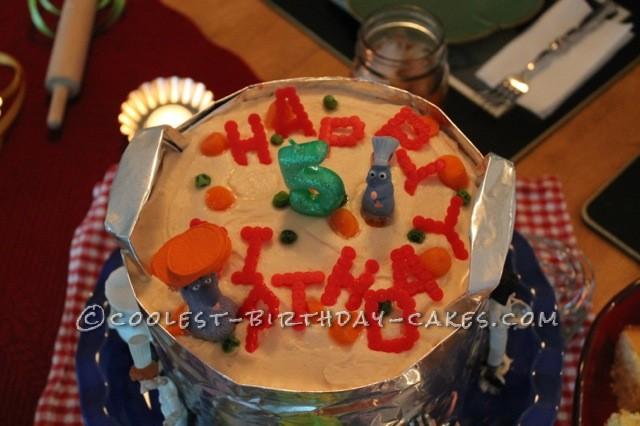 Coolest Ratatouille Cake
