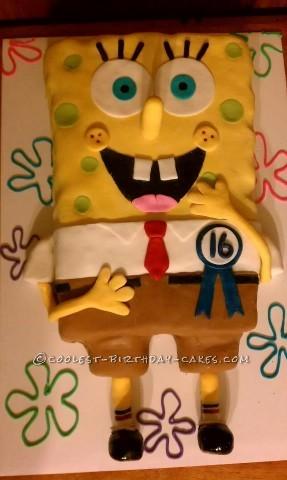 Coolest Spongebob Cake