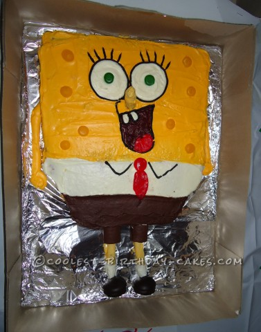 Coolest SpongeBob Squarepants Cake