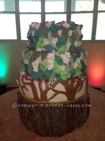 Coolest Tree Cake