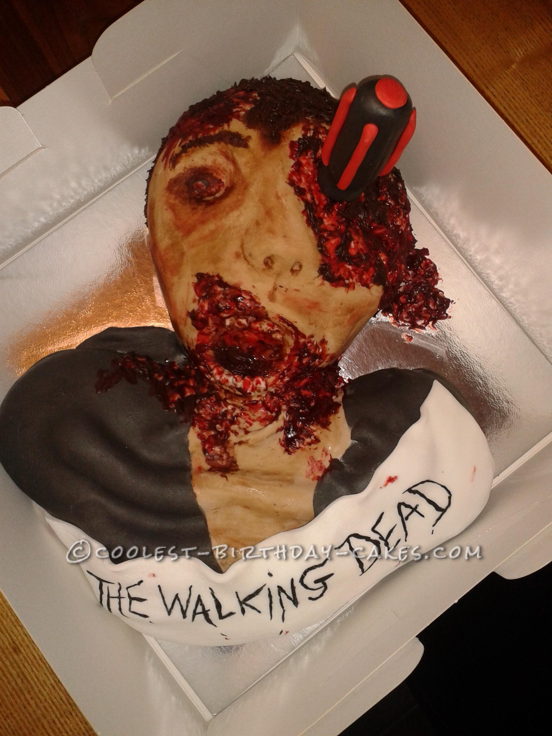 Coolest Zombie Cake