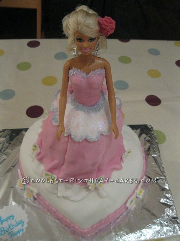 Dazzling Princess Cake Fit for a Princess