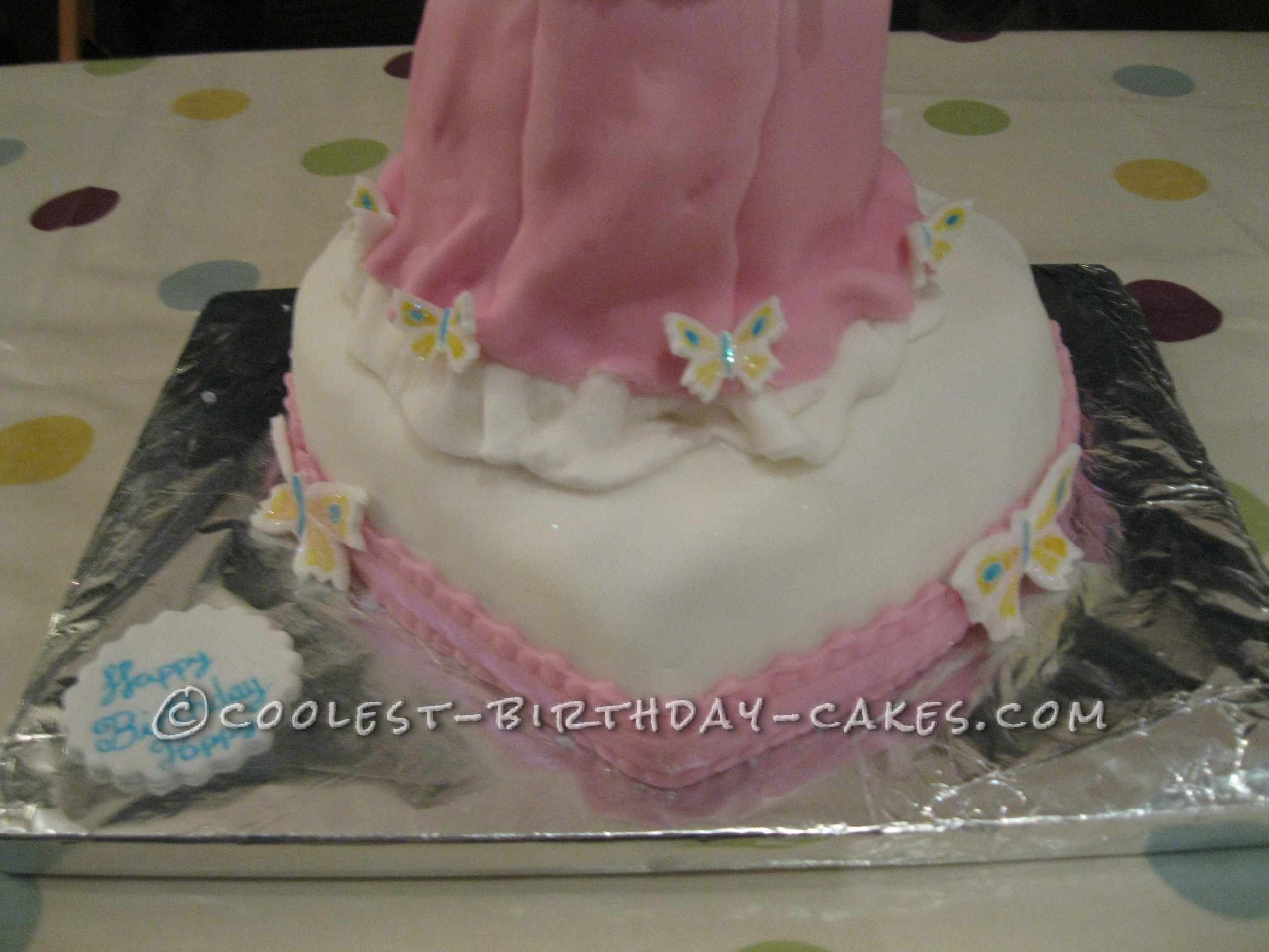 Dazzling Princess Cake Fit for a Princess