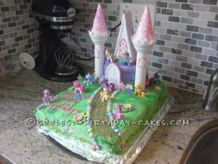 Magnificent Coolest Homemade My Little Pony Cakes Funny Birthday Cards Online Alyptdamsfinfo