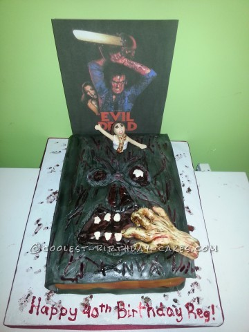 Coolest Evil Dead Birthday Cake