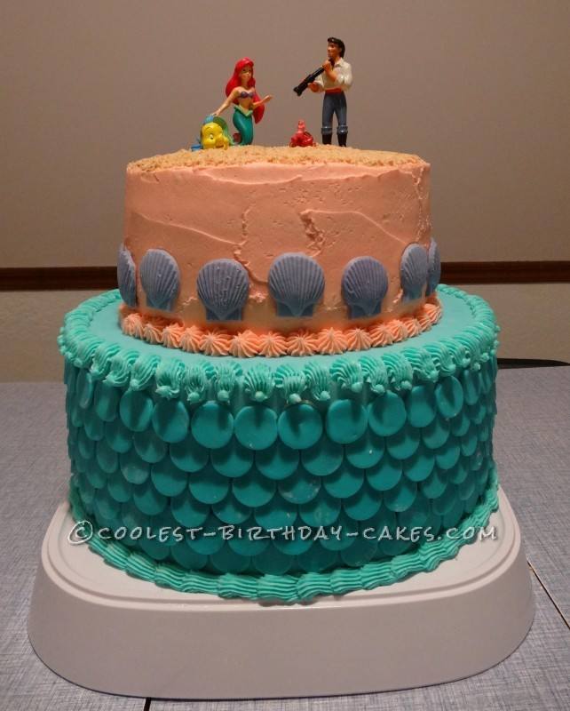 Fun Little Mermaid Cake