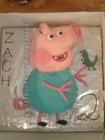Coolest George Pig Birthday Cake