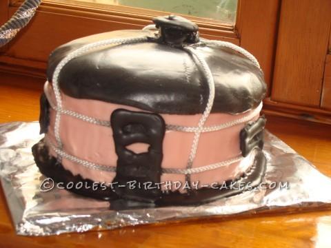 Coolest Yurt Shaped Cake