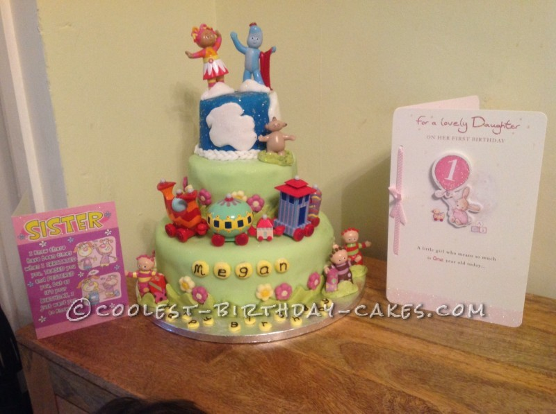 Coolest In the Night Garden Cake