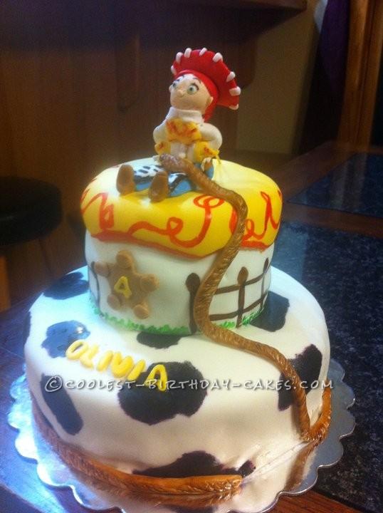 Jesse Toy Story Cake