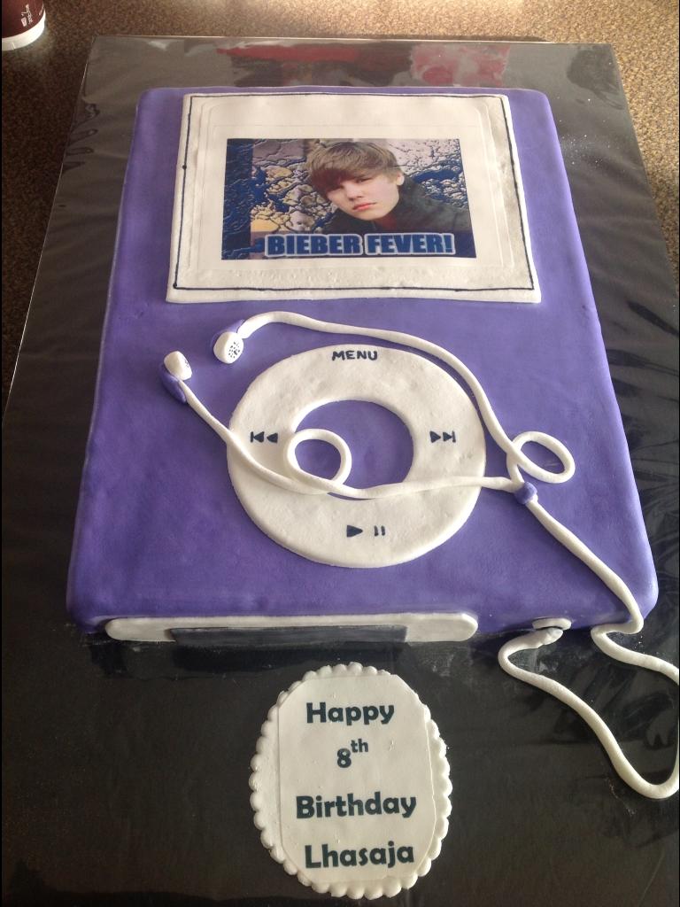 Coolest Justin Bieber Ipod Cake
