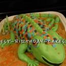 Coolest Larry the Lizard Birthday Cake