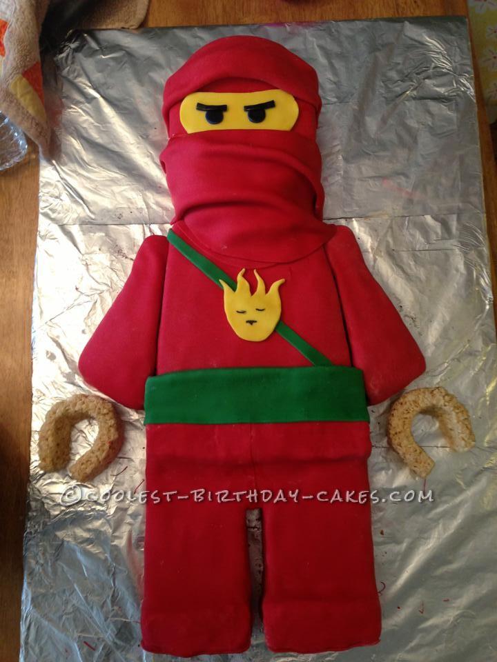 Coolest Lego Ninjago Birthday Cake