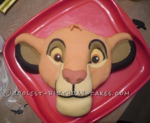 Coolest Lion King Simba Cake