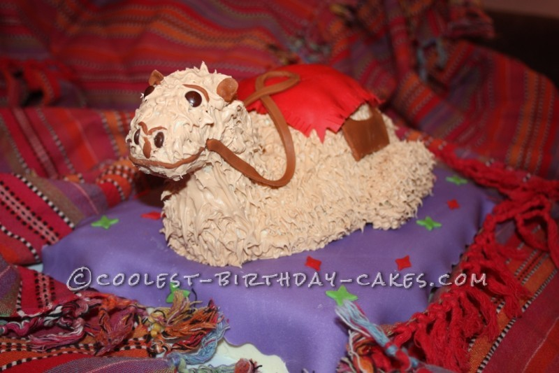 Magic Carpet With Camel Cake