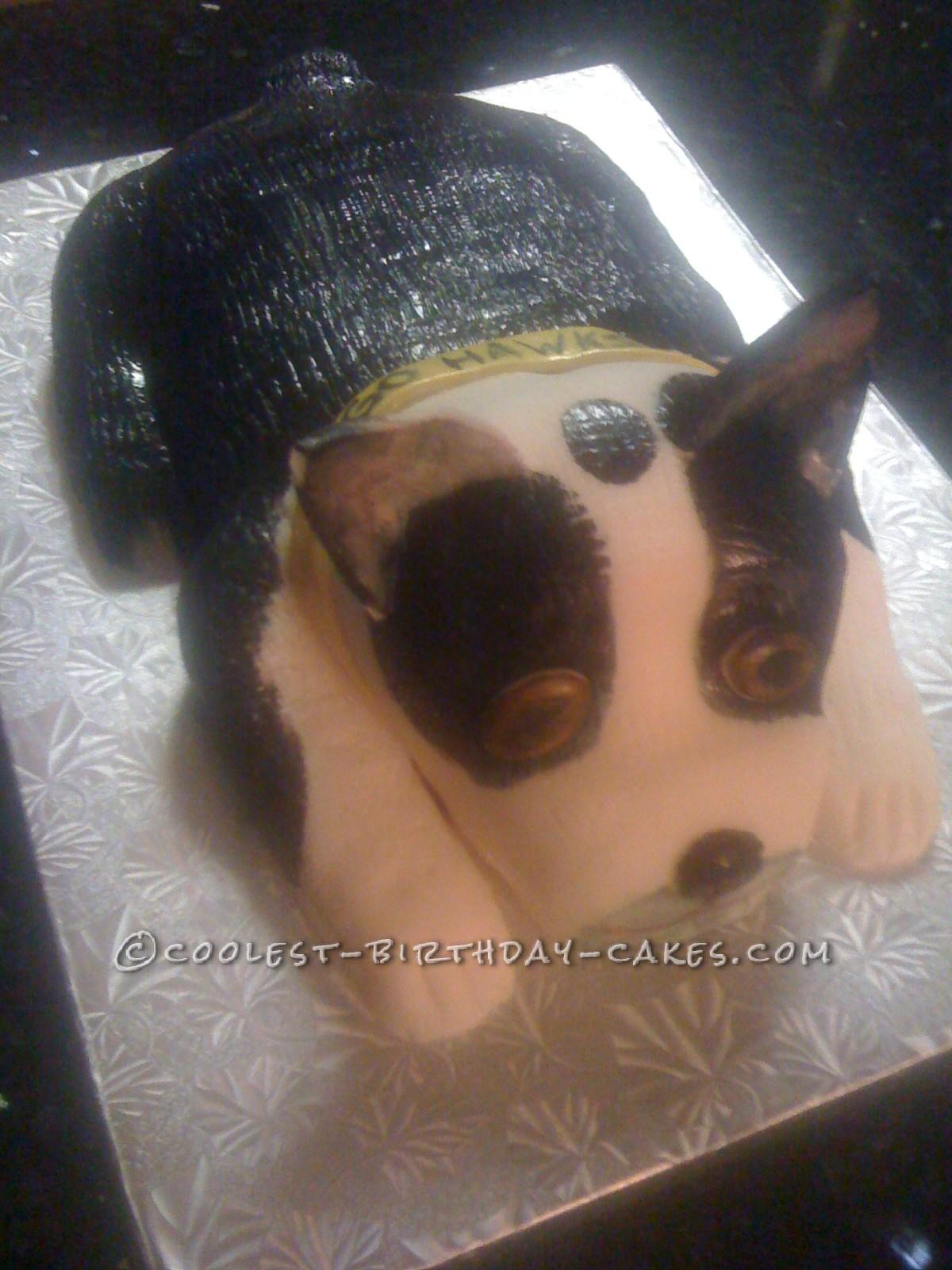 Man's Best Friend-Or My Husband's Best Friend Dog Cake