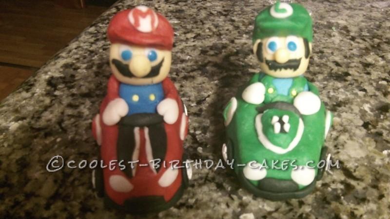 Coolest Mario Kart Cake