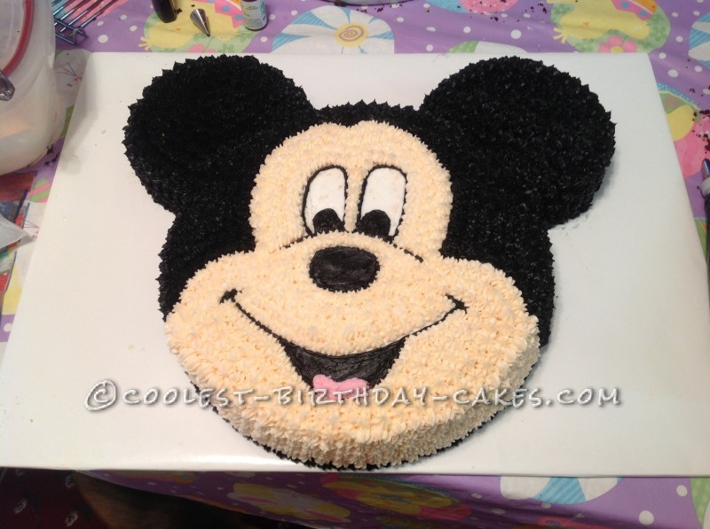 Coolest Mickey Mouse Birthday Cake
