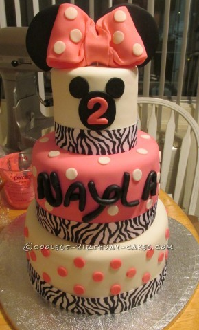 Coolest Minnie Mouse Dream Cake