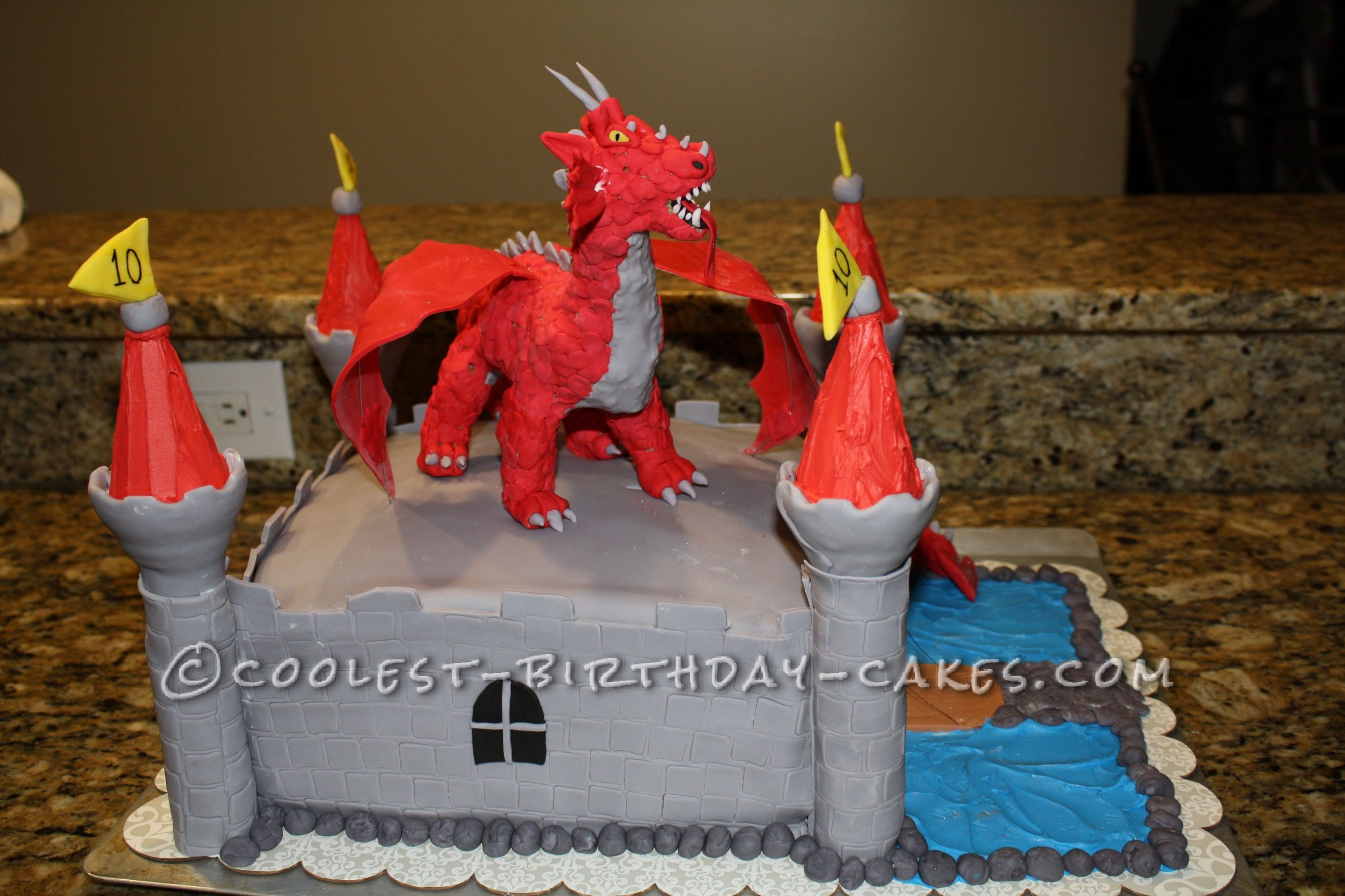 Most Breath Taking Castle Cake Pictures