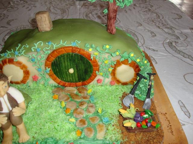 Hobbit Hole Cake Hobbit Hole Birthday Cake