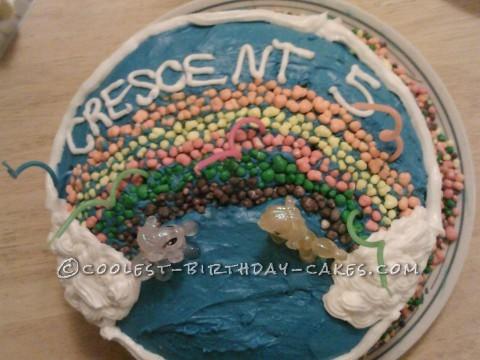 Cool My Little Pony Rainbow Cake