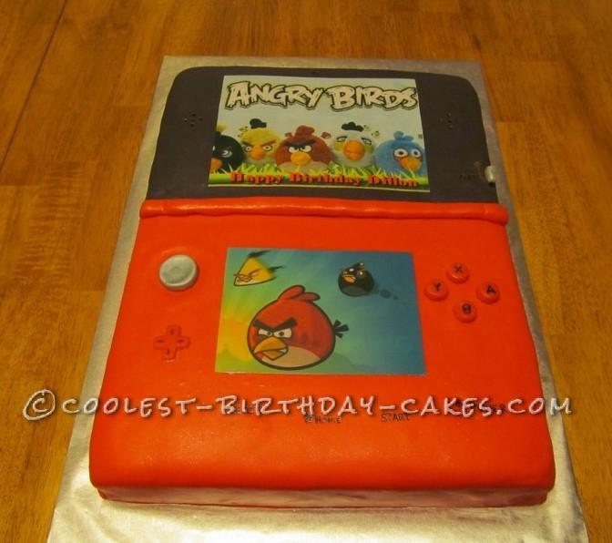 Nintendo 3DS Cake