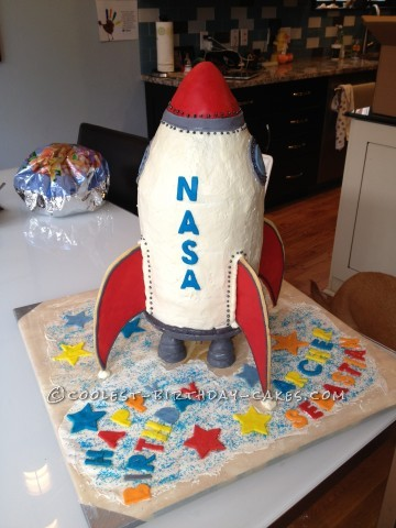 Old Fashioned Rocket Cake