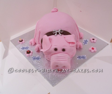 Pig Birthday Cake Ideas