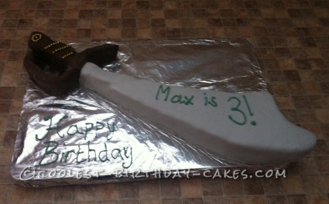 Coolest Pirate Sword Cake